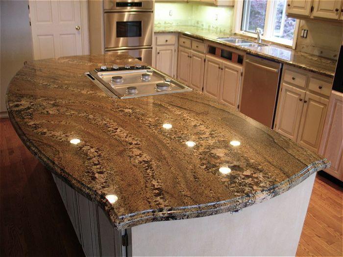 kitchen granite island