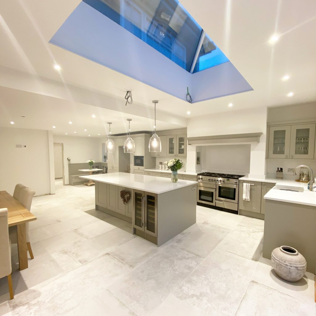 Quartz Kitchen Worktop - full slab of Classic Quartz Misterio Polished Quartz 2